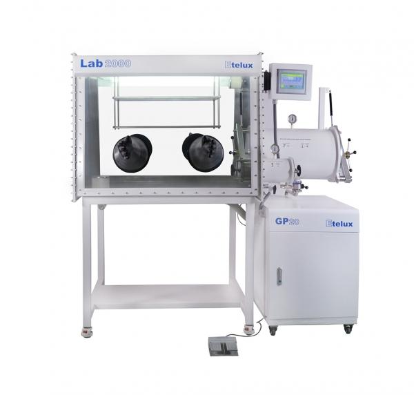 Lab2000 simplex a split type glove box