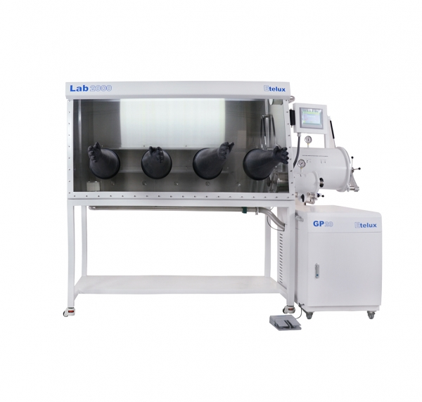 Lab2000-1800 double location one-piece single glove box