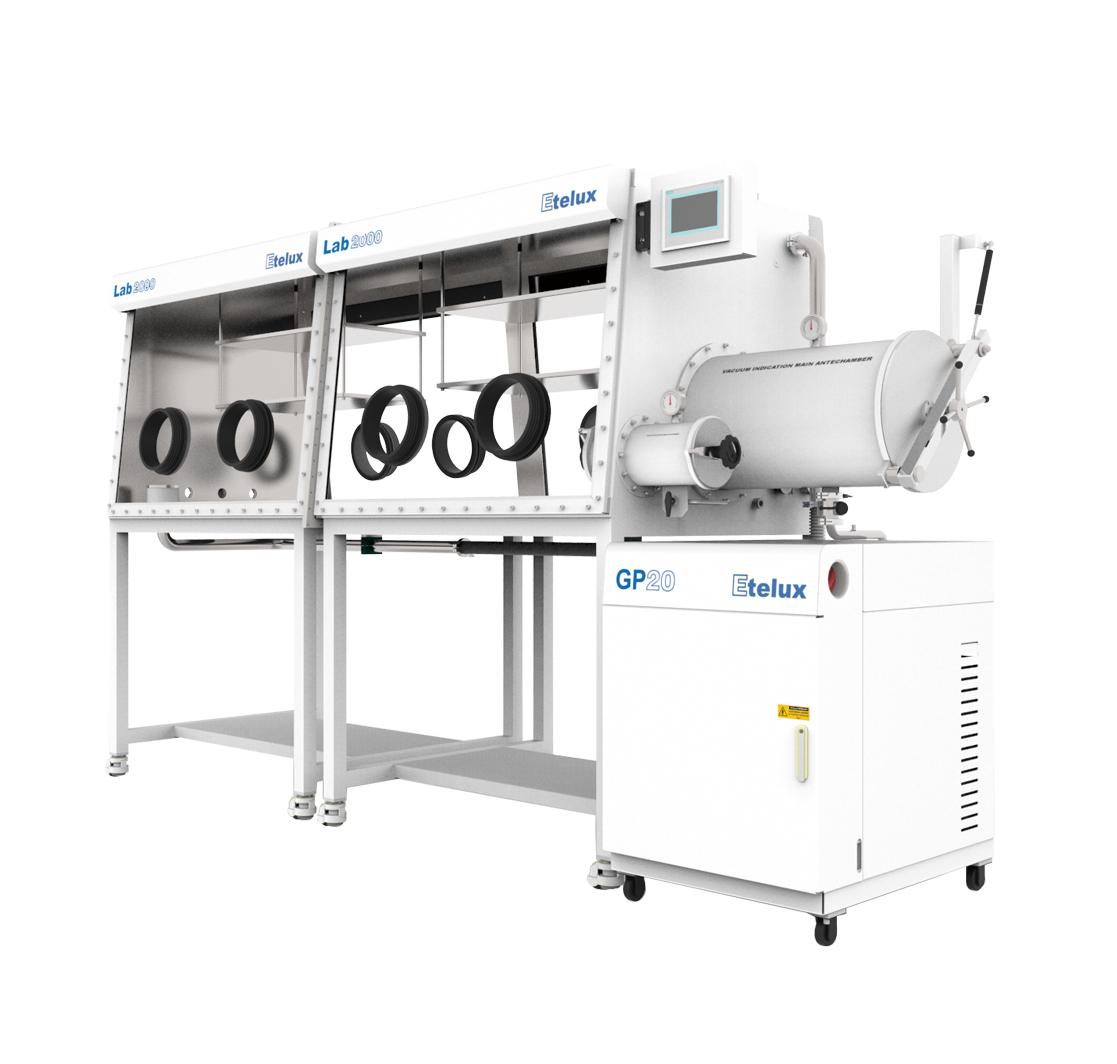 Split type double glove box Lab2000-2400 four work station