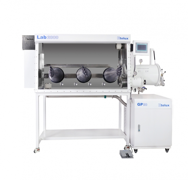 One-piece single glove box Lab2000-1500